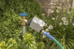 Gartenbewässerung Test -Orbit-B-hyve-Anschluss